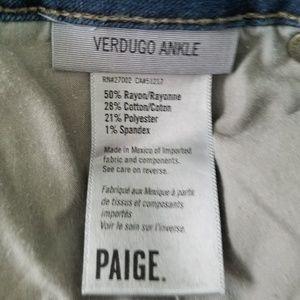 PAIGE Jeans - Paige Verdugo Ankle Jeans